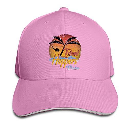 Unisex Magnum Pi Island Hoppers Adjustable Sandwich Cap Baseball Cap Dad Hat Casquette Hat Pink