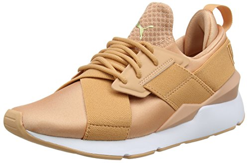 Puma MUSE SATIN EP WN'S, Damen Sneaker, Orange (DUSTY CORAL-DUSTY CORAL 07), 39 EU (6 UK)