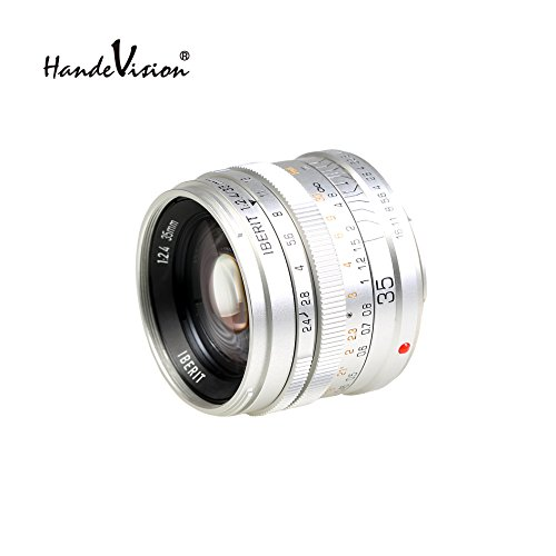 HandeVision IBERIT 35mm/f2.4 Sony E Glossy Silver