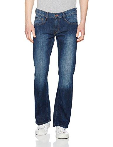 MUSTANG Herren Oregon Boot Bootcut Jeans, Blau (Stone 073), W30/L30