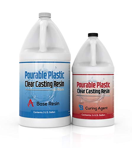 INCREDIBLE SOLUTIONS Pourable Plastic Clear Casting Resin