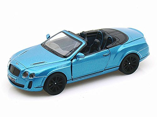 2010 Bentley Continental Supersports Convertible 1/38 Blue