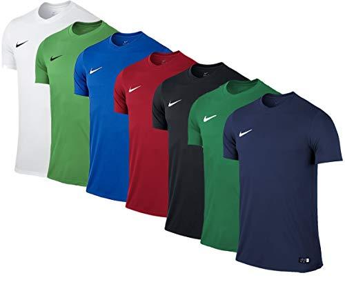 NIKE M Nk Dry Park VII JSY SS Camiseta de Manga Corta, Hombre, Verde (Pine Green/White), L