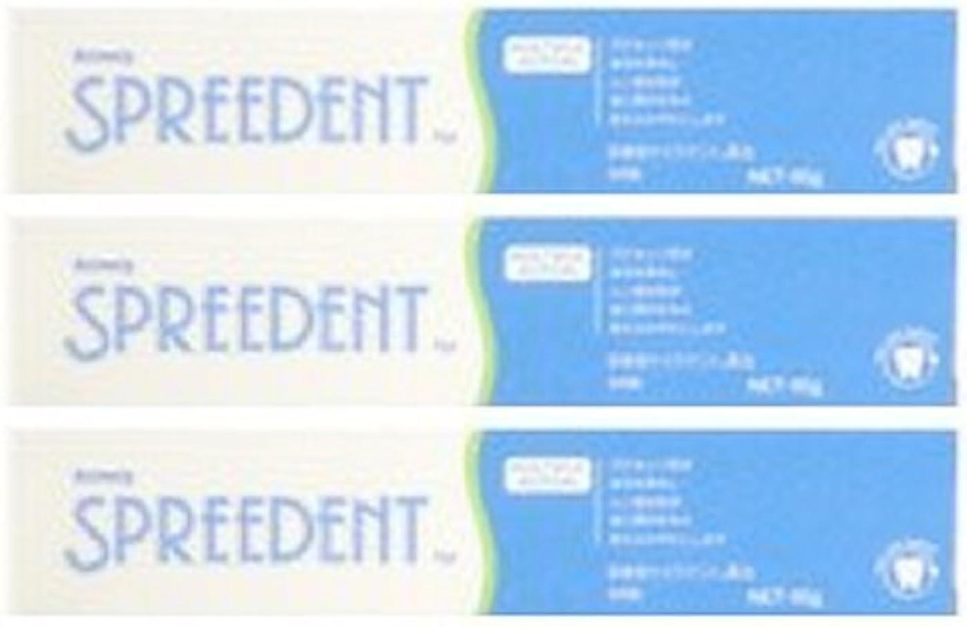 癒す作業移行するアムウェイ スプリーデント フッ素配合ハミガキ ハンディサイズ1本 (65g) E949J-99【3個セット】