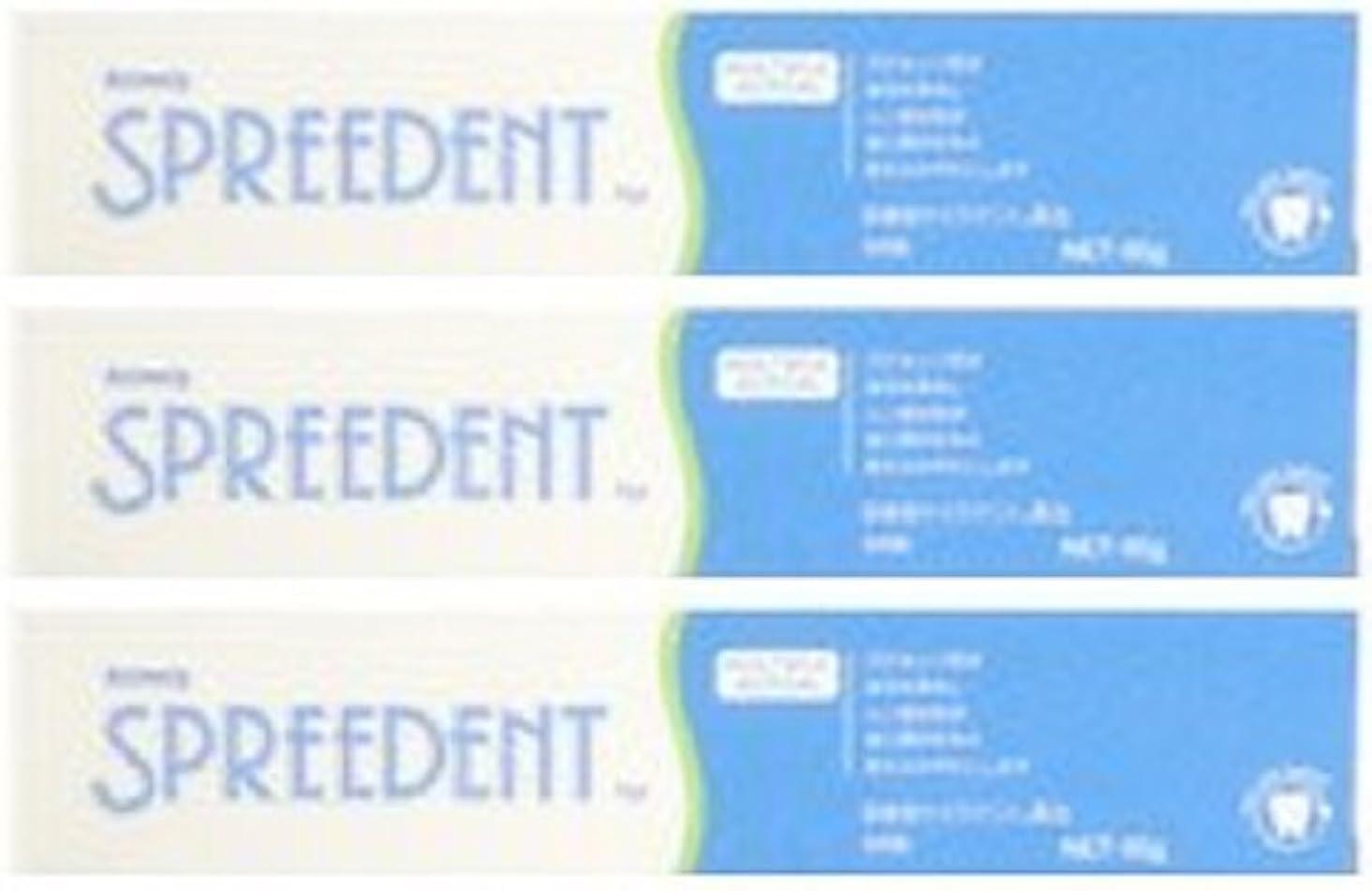 遵守する幸運な先生アムウェイ スプリーデント フッ素配合ハミガキ ハンディサイズ1本 (65g) E949J-99【3個セット】