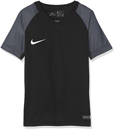 Nike SS YTH Revolution IV JSY Maillot Manches Courtes pour Homme, Noir (Black/White/White), L