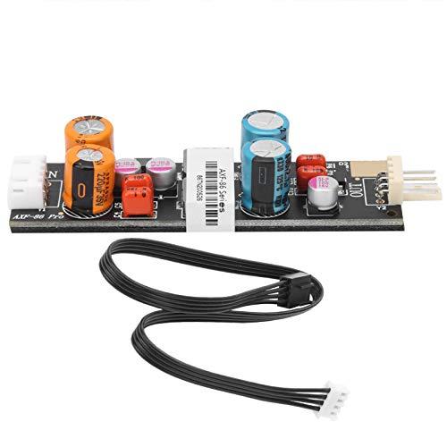 Filtro de ruido de la fuente de alimentación del ventilador, módulo de purificación de mejora de audio de purificación de energía de 4 pines PC-HiFi