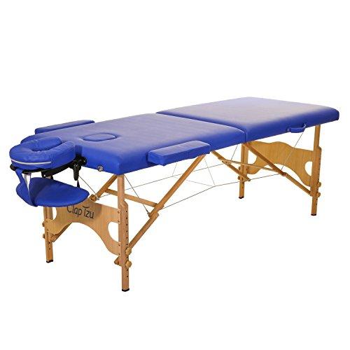 Mobile Massageliege Clap Tzu ECONOMY COMFORT SET, 184x70 cm, marina