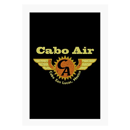 Cloud City 7 Cabo Air Jackie Brown A4 Print
