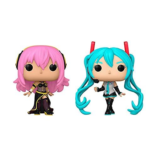 Funko Pop! Anime Vocaloid Set of 2: Mergurine Luka V4X and Hatsune Miku V4X