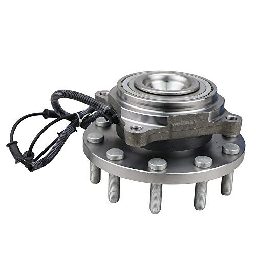 CRS NT515102 New Wheel Bearing Hub Assembly, 1 Piece, Front Left (Driver)/ Right (Passenger), for 2008-2010 Dodge Ram 5500/ Ram 4500, 2011-2015 Ram 4500/5500, 2WD/ 4WD