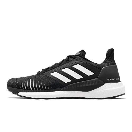 adidas Solar Glide ST M, Zapatillas de Deporte Hombre, Negro (Negbás/Ftwbla/Gritre 000), 41 1/3 EU