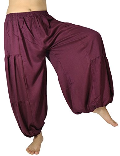 Harem-Aladdin-Hose, Übergröße, Taillenumfang 61 - 122 cm