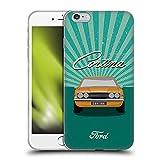 Head Case Designs Licenciado Oficialmente Ford Motor Company Car Front Vintage Cortina Carcasa de Gel de Silicona Compatible con Apple iPhone 6 Plus/iPhone 6s Plus