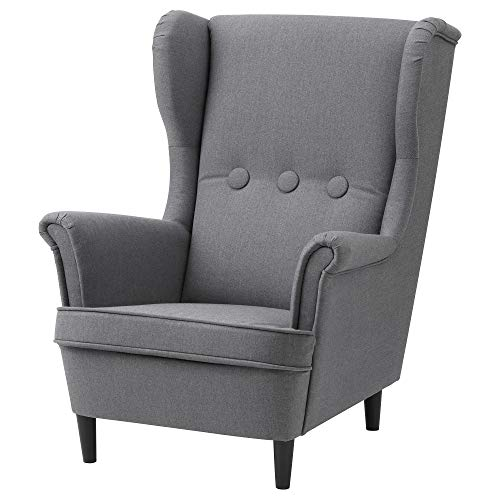 IKEA Strandmon Kindersessel Vissle Grey