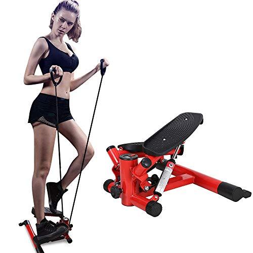 Trappers, mini met trainingscomputer en grote loopvlakken, hometrainer voor buikbenen butt workout