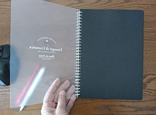 Pilot Juice Gel Ink BallpointPen, 0.5mm Extra Fine, Pastel & Metalic, 12 Colors, Etranger Di Costarica B5 Double Ring Notebook Black Paper Plain 100 Sheets, with Sticky Notes Value Set Photo #5
