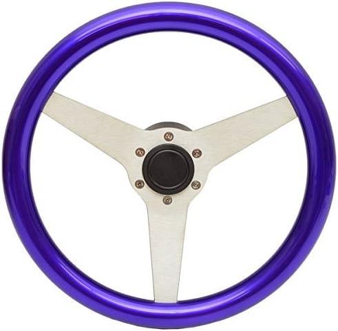Uflex USA Steering Wheel PONZA-PL Max 88% OFF S 4 3 Inch Purpl Ranking TOP5 Aluminum 13