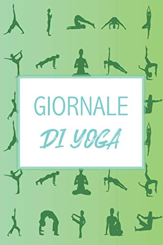 GIORNALE DI YOGA: per tenere traccia delle pose che hai praticato, dei tuoi progressi nell'allenamento e del benessere che provi durante la sessione | ... Yoga personale | Namaste | Ideale come regalo