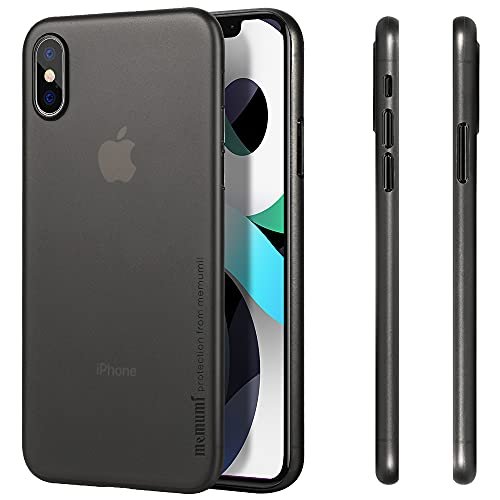 memumi Compatible con iPhone XS Funda, Ultra Slim 0.3 mm Anti-Rasguño y Resistente Huellas Funda para iPhone XS 5.8
