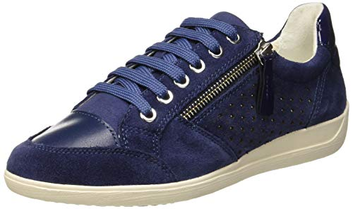 Geox D Myria a, Zapatillas para Mujer, Azul (Blue C4000), 41 EU