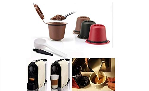 TAGG Capsules Nespresso rechargeables dosette café...