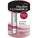 ChapStick Total Hydration (Merlot Tint, 1 Blister Pack of 1 Stick) Tinted Moisturizer, 100% Natural...