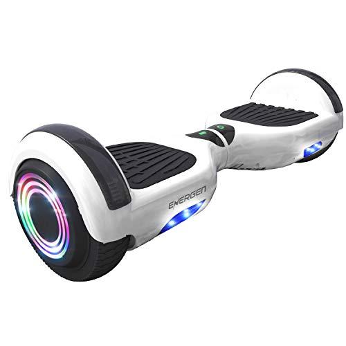 Energen Hoverboard 6.5' Self Balancing Scooter for Kids with Bluetooth Speaker & LED Light-Ul2272...