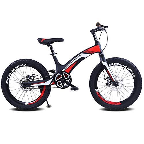 LISI Bicicleta Infantil de aleación de magnesio Rueda de 20 Pulgadas Bicicleta...