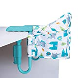 Cosatto Grubs Up Travel Highchair – Secure, Clip-On, Lightweight, Portable, Table-Top Booster, Up to 15kg (Dragon Kingdom)