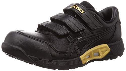 [アシックス] ワーキング 安全靴/作業靴 ウィンジョブ CP305 AC JSAA A種先芯 耐滑ソール fuzeGEL搭載 メンズ ブラック/ブラック 29.0