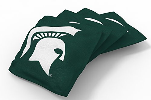 Wild Sports NCAA College Michigan State Spartans Green Authentic Cornhole covid 19 (Michigan State Spartans Green coronavirus)