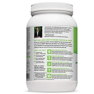 Lean 1 Vanilla Fat-Burning protein Shake by Nutrition 53, Lactose & Gluten Free with Green Coffee Bean Extract, 23 Serving Tub - 42 Oz