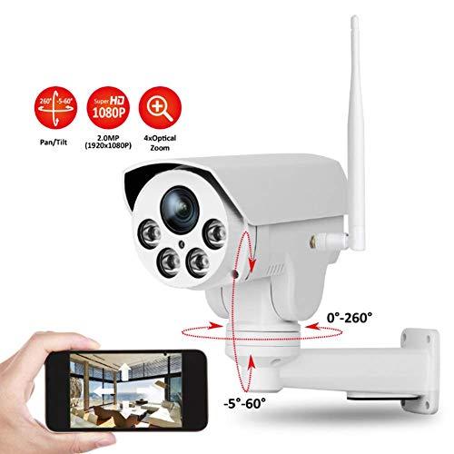 Surveillance Camera HD Zoom 1080P Waterdichte Pistool Machine Wifi Afstandsbediening IP Camera voor Indoor en Outdoor Home Security