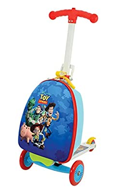 Disney Toy Story M004058 Scootin Suitcase, Blue
