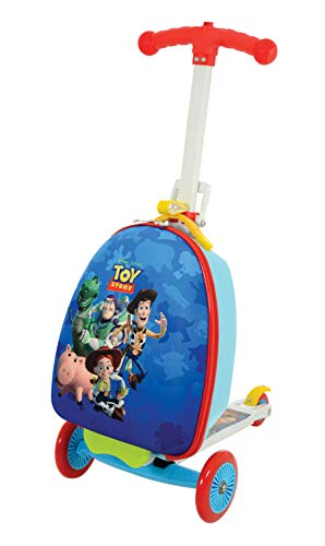 Disney Toy Story M004058 Scootin Suitcase, Blue