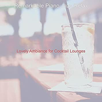 Lovely Ambiance for Cocktail Lounges