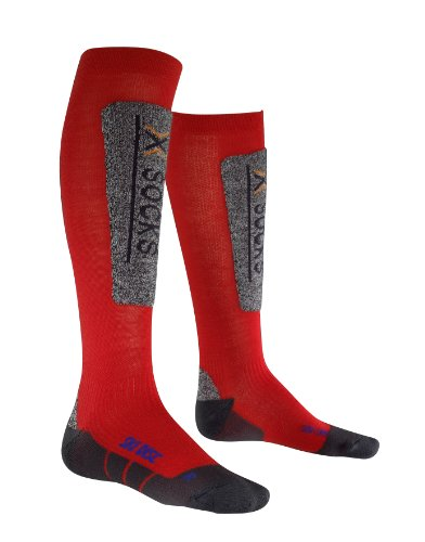 X-Socks Ski Discovery Junior Chaussettes Garçon, Rouge, 27-30