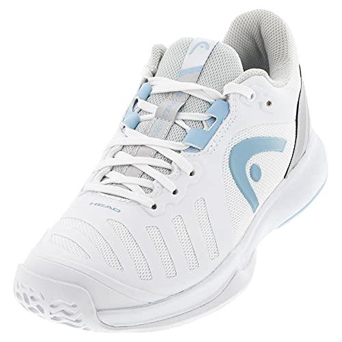 Head Sprint Team 3.0 2021 Women, Tennis Shoe Donna, Bianco e Grigio, 39 EU