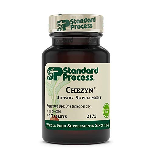 Standard Process Chezyn - Immune Support, Thyroid Support, Cognitive Health, and Blood Health Support with Iron, Zinc, and Copper - 90 Tablets