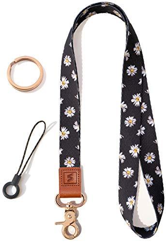 SENLLY Llavero Correa para Cuello Cordón Cuerda Neck Lanyard Strap, para el key, Keychain Teléfono Móvil, USB, Llaves, Nombre Tag, Tarjetas de Identificación
