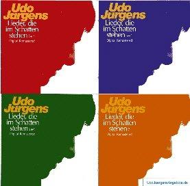 Udo Jürgens - Lieder, die im Schatten stehen - komplette CD-Serie.
