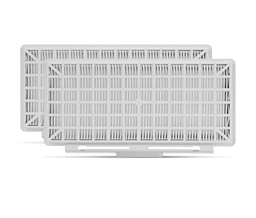 Supremery 2X HEPA Filter Set für Siemens Serie Q 5.0,Q 8.0,Z 5.0,Z 6.0, Z 7.0 Staubsauger wie VSQ5X1230, Alternative für Siemens VZ154HFB / Bosch BBZ154HF Hygienefilter, Ersatzteil Filter