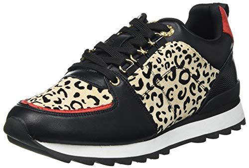 Maria Mare Damskie buty sportowe Nara, czarny - Brina Negro Leonious Camel Soft Rojo Reptil 2 Negro - 39 eu