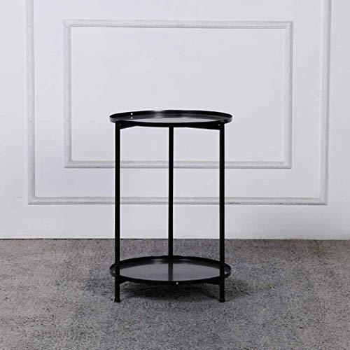 Goede staande tv, tafellamp, salontafel, salontafel van klein eikenhout, afmetingen tafel, rond, verguld met dubbele streng, inklapbare tafel van ijzer, meubelmeubels D