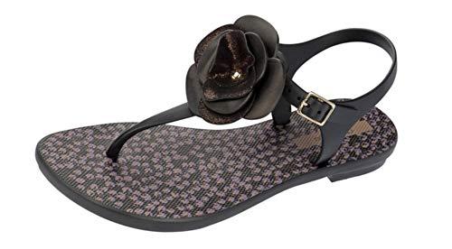 Grendha Bouquet Sandal Sandalias / Sandalias Para Mujer - Negro