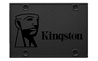 Kingston SSDNow A400 240GB SATA 3 Solid State Drive (SA400S37/240G), Black