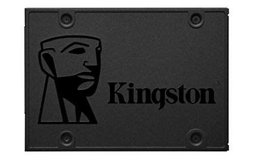 Kingston 480GB A400 Sata3 2.5' Internal SSD SA400S37/480G - HDD Replacement for Increase Performance, Black, 480 GB