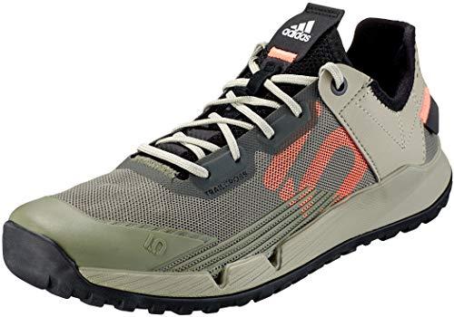 adidas 5.10 TRAILCROSS LT W, Chaussure d'athlétisme Femme, Vert Héritage Signal Corail Noir Noir, 39 1/3 EU