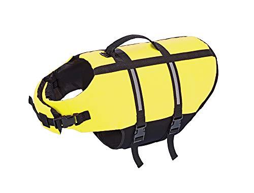 Nobby 77577 Hunde Schwimmhilfe neon gelb Größe: M; 35 cm, M